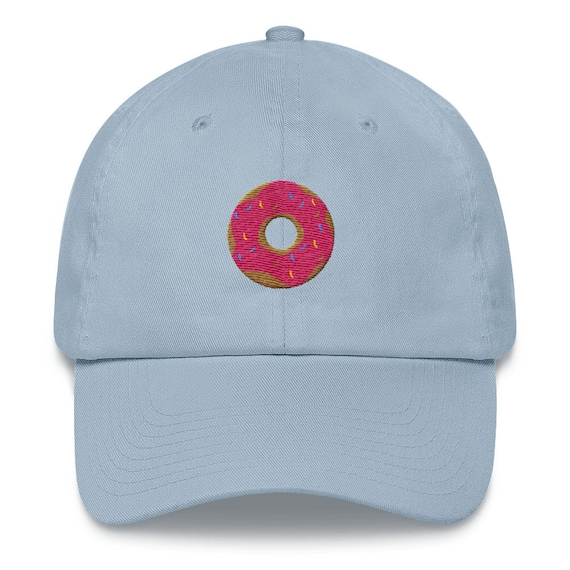 Embroidered Donut Baseball Hat  c8eb618d008d