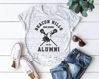 c7bd99c78 Beacon Hills Alumni | shirt, inspired by Teen Wolf, Teen Wolf Beacon Hills  Lacrosse, Stile Stilinski, Teen wolf shirt, teen wolf tshirt.
