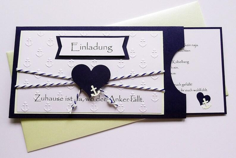 fbdd9dbc51ea1 Einladung Hochzeit 10er Set personalisiert Einsteckkarte | Etsy
