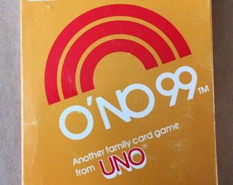 Vintage ONO 99 Card Game Uno