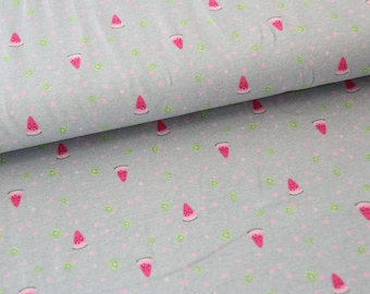 Flamingo Party Jersey Swafing 0.5 m CottonJersey Stretchjersey Fabric