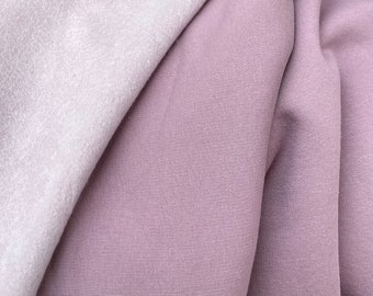 Sweat organic cotton with very cuddly soft inside BERRY