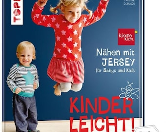 Child's play - sewing with jersey - for babies and kids from 0-9 years