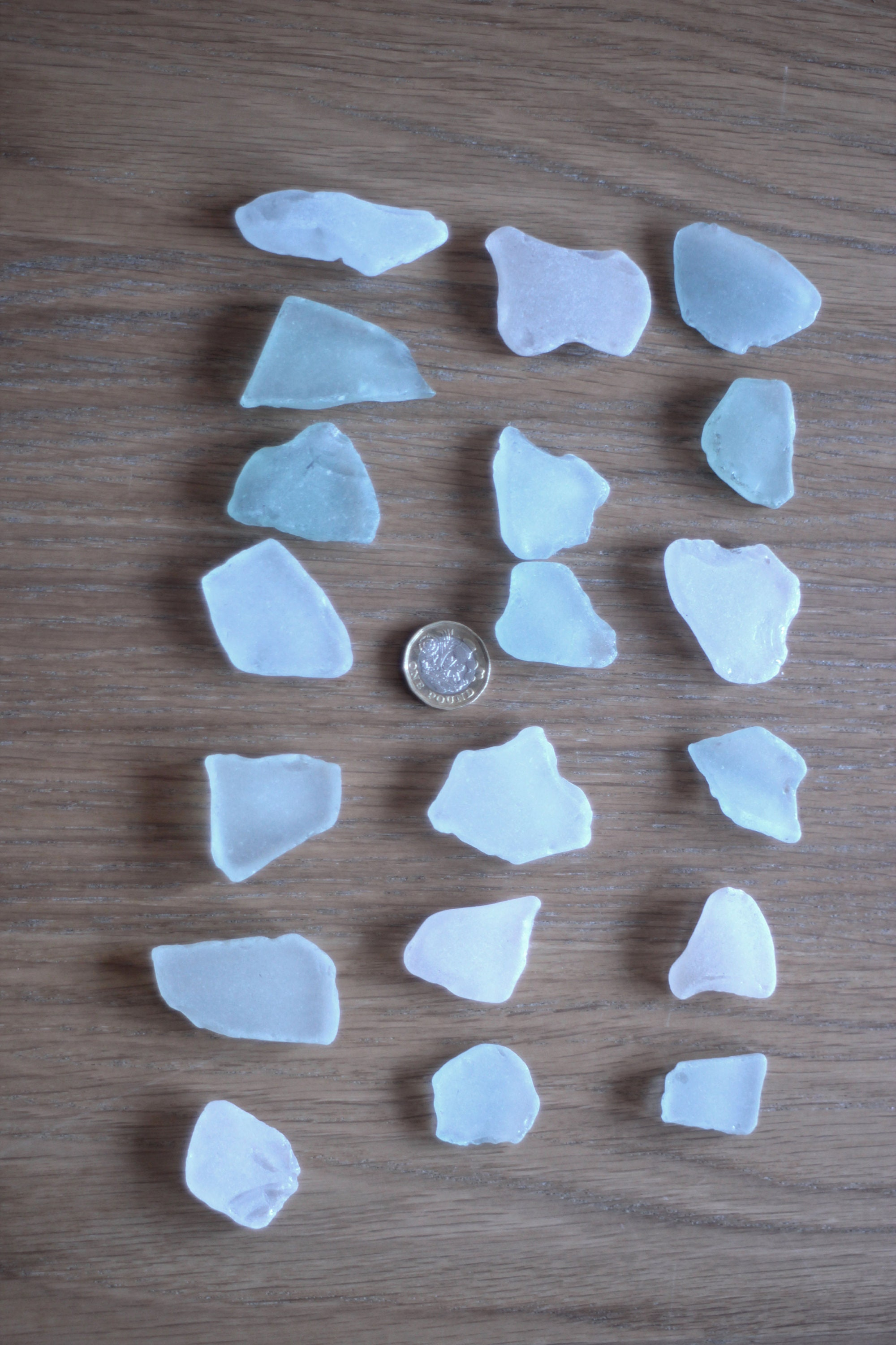 British Sea Glass 200g Various Sizes and Colours