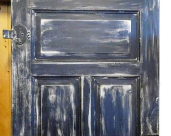 Alte Tür*Zimmertür Zum Einbauen Oder Als Deko Für Innen U0026 Aussen ... Hinter  Einer Kommode*Tisch*Konsolentisch... Brocante Und Shabby