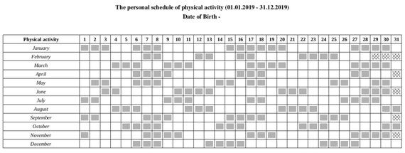 fitness exercise schedule personal trainer calendar fitness etsy