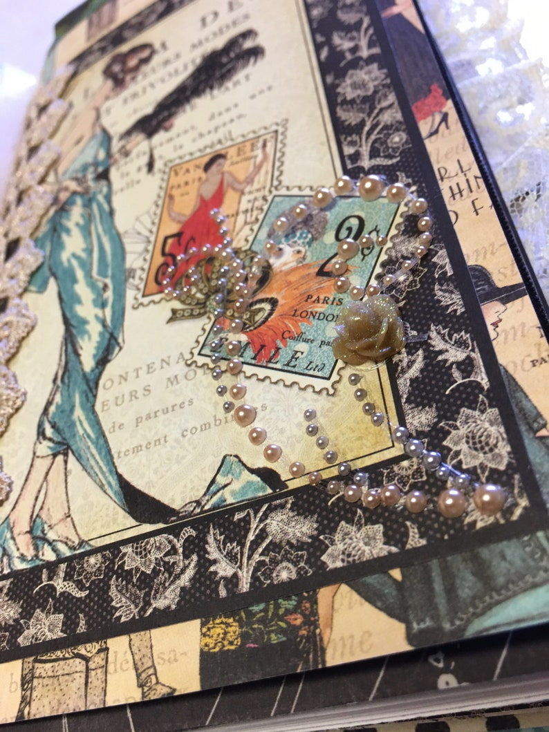 Sewing themed junk journal 2