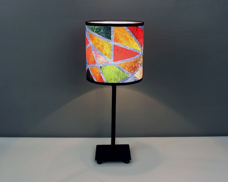 Lamp uNCLOSED cOLOR S. A colorful abstract image 0