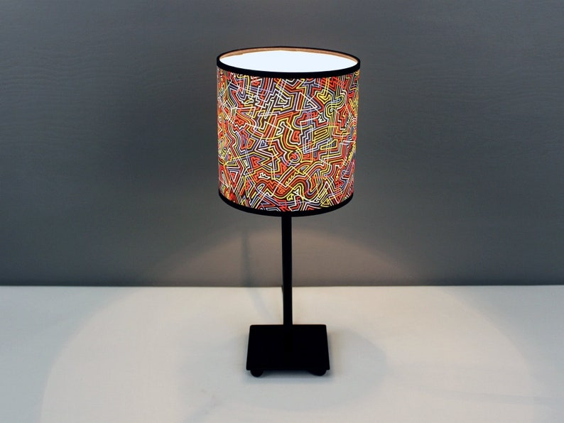 Lamp LAMIELUKI S with a motif of a painting made image 0