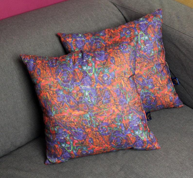Two decorative pillows sEN kOSIARZA 7 37x37 cm. image 0