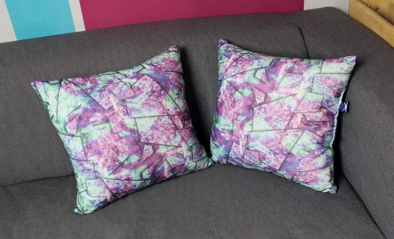 Two soft decorative pillows sEN kOSIARZA 1 40x40 image 0