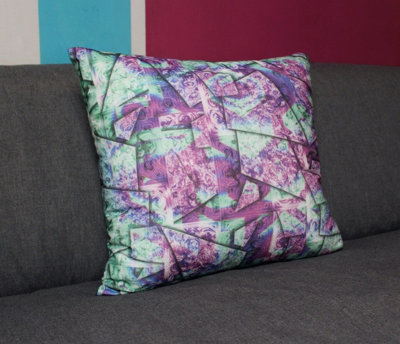 Soft decorative pillow sEN kOSIARZA 1 40x40 cm. image 0