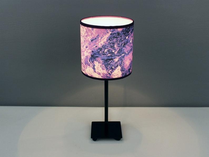 Lamp tERRAFORM violet S. Purple standing lamp for image 0