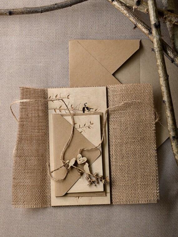 Hochzeitseinladungen Holz 60 Woodcut Z Etsy