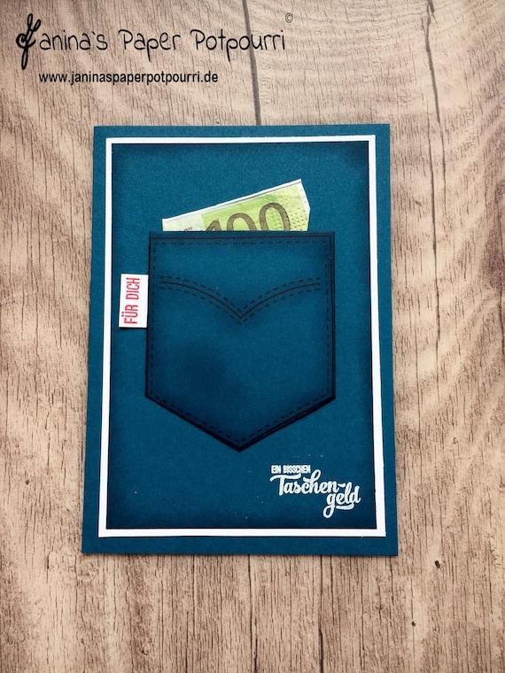 Geldgeschenk Karte Taschengeld Reisezuschuss Etsy
