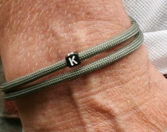 Bracelet Personalized Bracelet Men's Friendship Bracelet Letter Partner Bracelet Personalized Bracelet Letters Men Gifts BFF