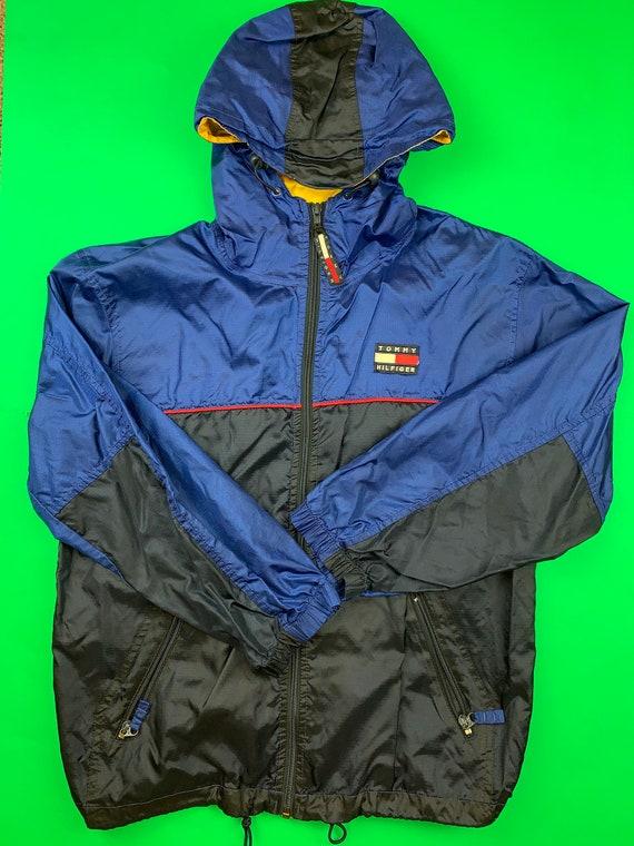 Tommy Hilfiger Vintage Windbreaker Jacket Mens Sma