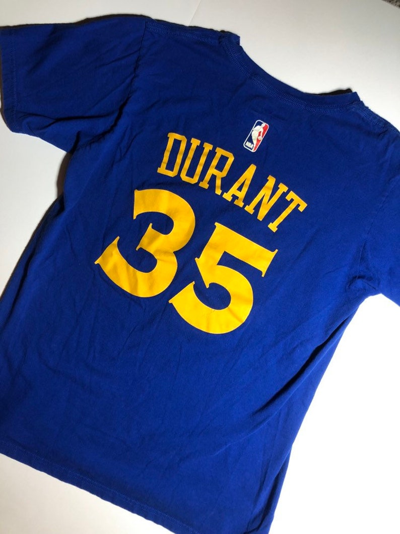 new style d5354 8ccc2 Golden State Warriors Kevin Durant Jersey Shirt Womens Medium Adidas