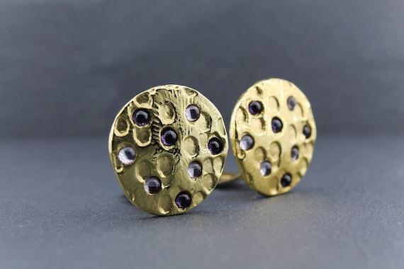 DOLCE VITA – Moon Craters Earrings