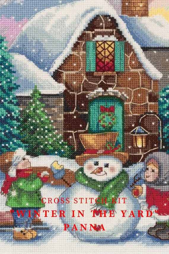 Counted Cross Stitch Kit RTO-ponts de Saint-Pétersbourg