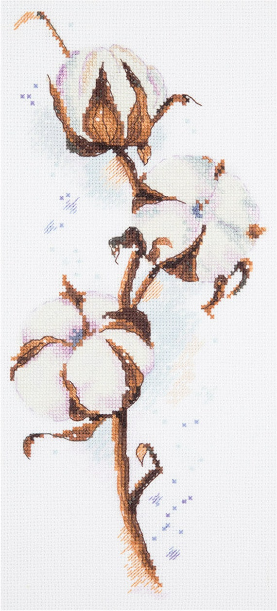 """New Cross Stitch Hand Embroidery Kit by Panna /""""Spring Wreath/"""""""