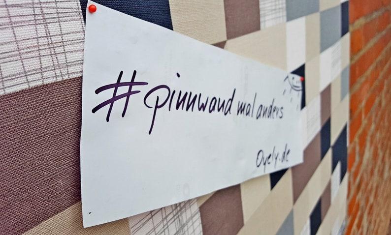 Pinboard Pinnboard pattern Modern plaid image 0
