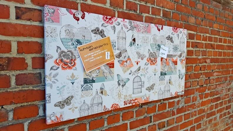 Pinboard Pinnboard birds Garden Love Butterfly image 0