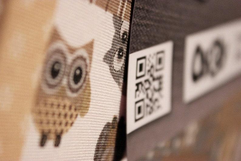 Pinboard Pinnboard Owl child discreet Children's room image 0
