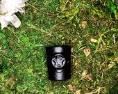 Miniature Pentagram Altar Spell Chime Candle Holder - Cast Iron