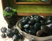 Moss Agate - 1-2cm Tumbled Stones - Earth Energy - Gardener's Talisman - Crystal - Pocket Rock