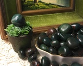Bloodstone - Tumbled Stone - Business Wealth Fire Healing Victory Courage Crystal Heliotrope