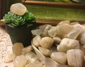 Moonstone Crystals 1-2cm Tumbled Smooth Gemstone Travel Protection Acceptance