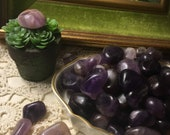 Amethyst Crystals 1 - 2cm Tumbled Smooth Gemstones – Healing Chakra Stones