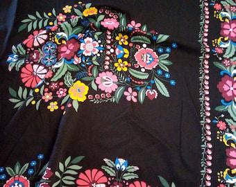 Feste Baumwolle Stoff Bunt Paisley Folklore 100 Pure Cotton In