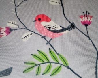 Jersey Fabric Bird