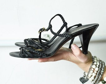 bbb94df649b Shabby chic heels   Etsy