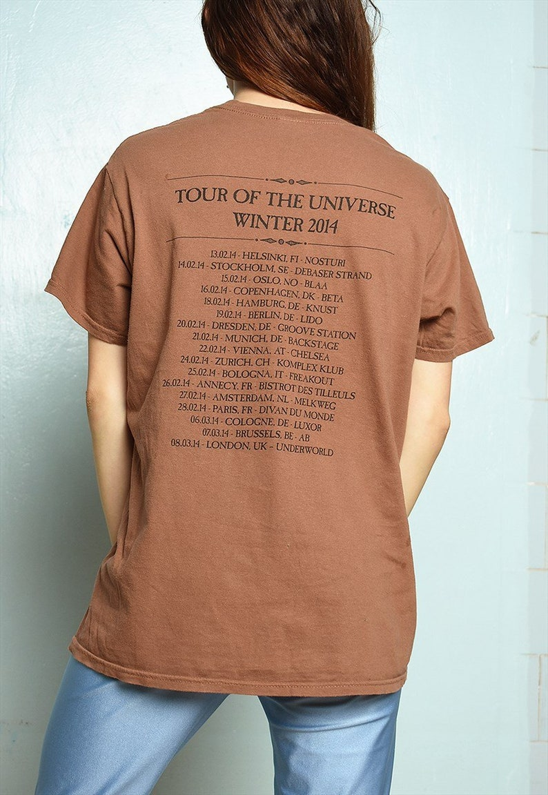 Vintage 90s slogan graphic festival blouse top t-shirt tee