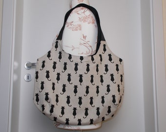 Shopping bag / bag cat