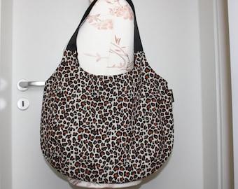Shopping bag Olivia Leo terracotta/brown