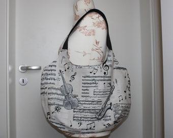 Shopping bag /bag music