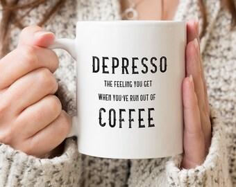 Depresso Quote Etsy
