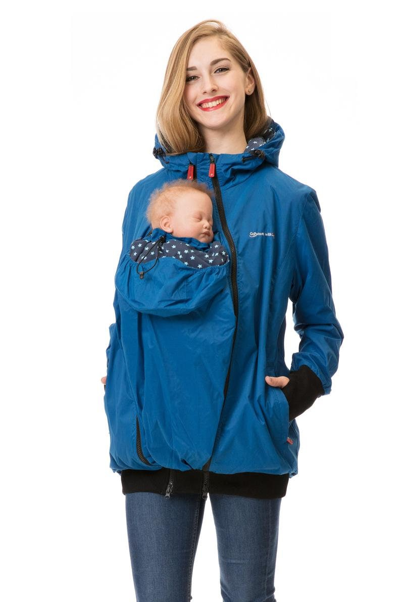 GoFuture\u00ae 5in1  Babycarrying SOMMERAmMEER Babywearing jacket Front and back plus Maternity pregnancy multifunction 100/% water proof