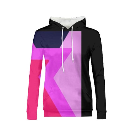 Inspired by the gem garnet *Topstitch seam detailing *Adjustable drawstring hood *High-quality, wear-resistant fabric *95% Polyester; 5% Spandex  Our Womens All-Over Print Hoodie is the ultimate loungewear, combining comfort and style with ease. Strut in your custom look whether