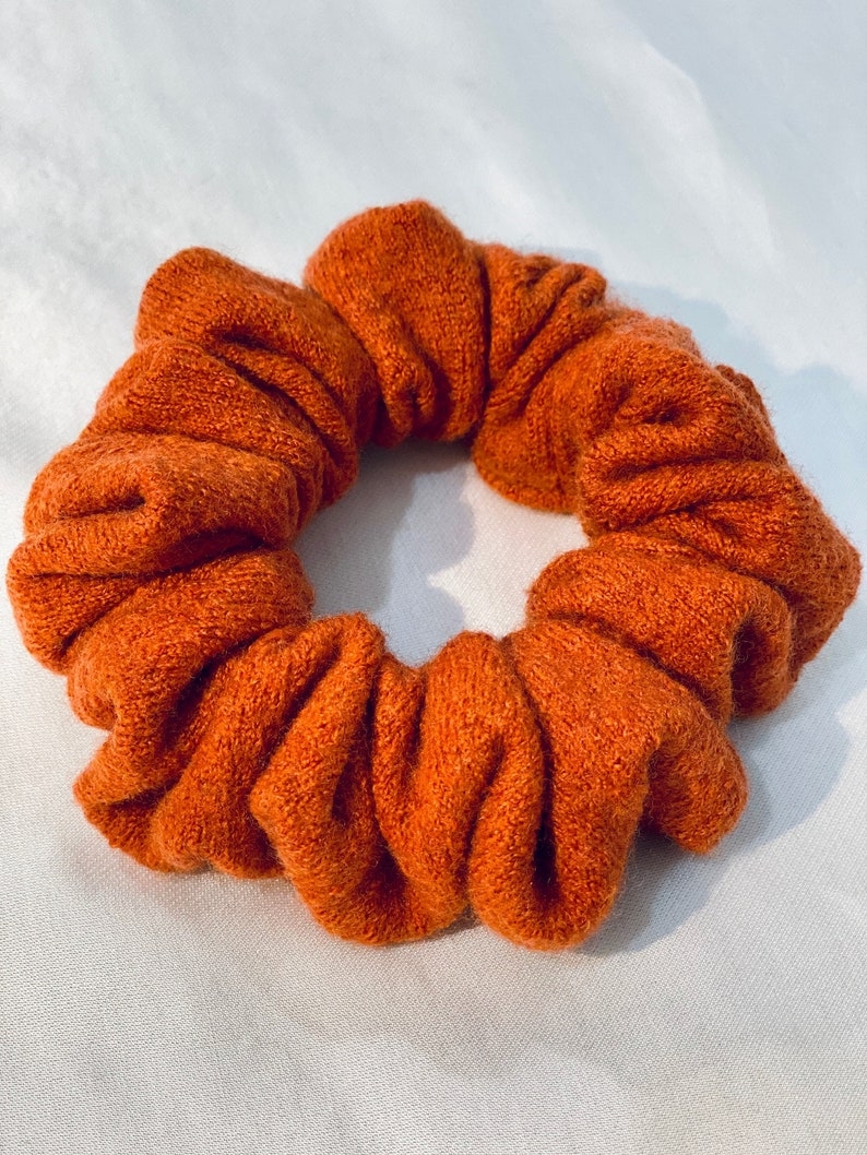 Salvaged Merino Wool Scrunchie