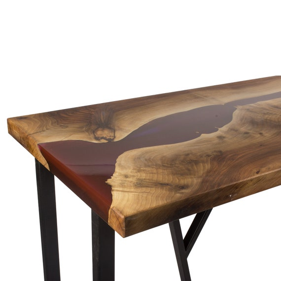 huge discount 2bab6 12b02 Walnut River Console Table, River Table, Resin Table, Epoxy Table, Coffee  Table, Live Edge Table, Console Table,Wood Table