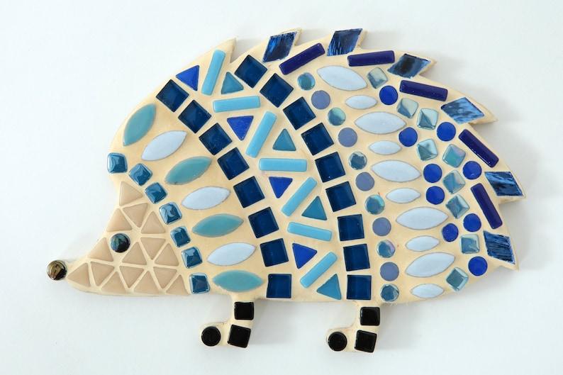 10. Blue Hedgehog Mosaic Kit