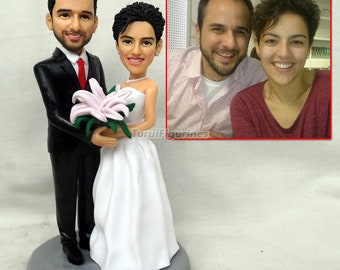 daf1f548975 custom Figurines dollhouse fairy figurine angel figurines birthday cake  topper wedding cake topper mr mrs personalized bobblehead figurines