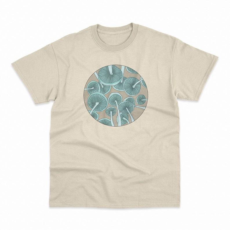 e9b00979c Shrooms Graphic T-Shirt Mushroom Graphic Tee Unisex Mens | Etsy