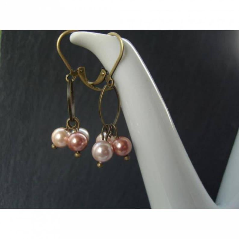 Earrings  Pastel Oval image 0