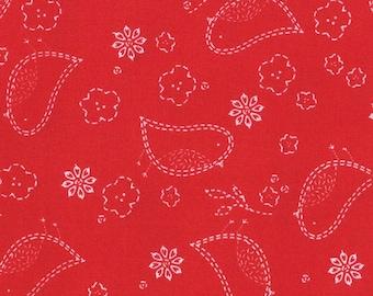 Moda Fabric Red Birds